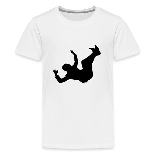 Fallender Mann - Teenager Premium T-Shirt