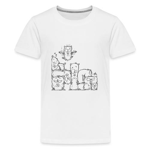 hamstris - Teenager Premium T-Shirt