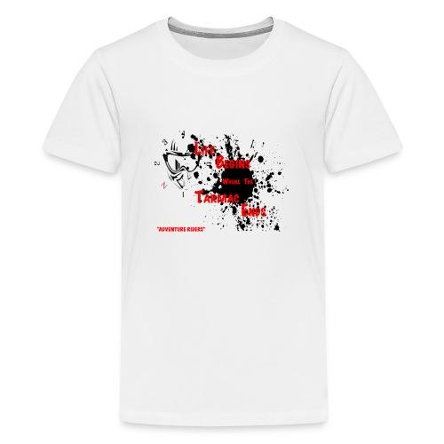 TARMAC ENDS - Premium-T-shirt tonåring