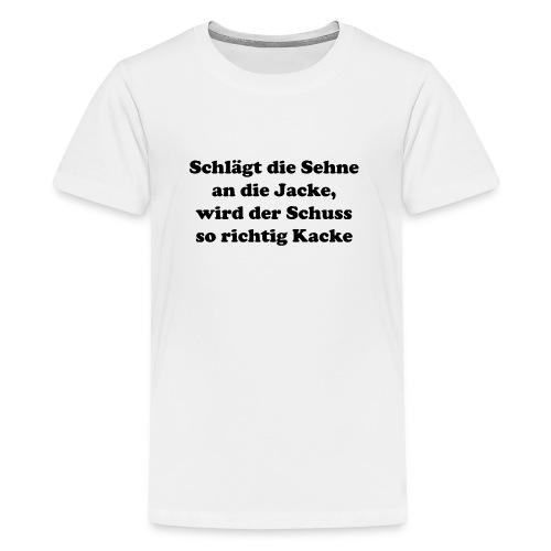 Sehne Jacke - Teenager Premium T-Shirt