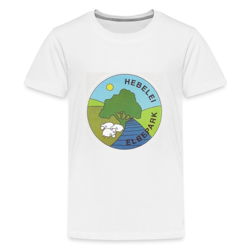 Logo Elbe-Tier-Park Hebelei - Teenager Premium T-Shirt