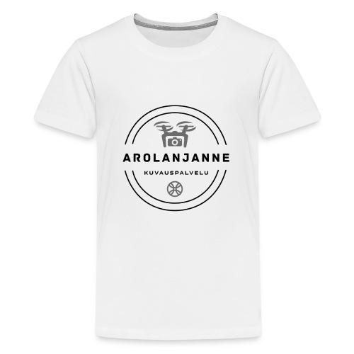 Janne Arola - kuva edessä - Teinien premium t-paita