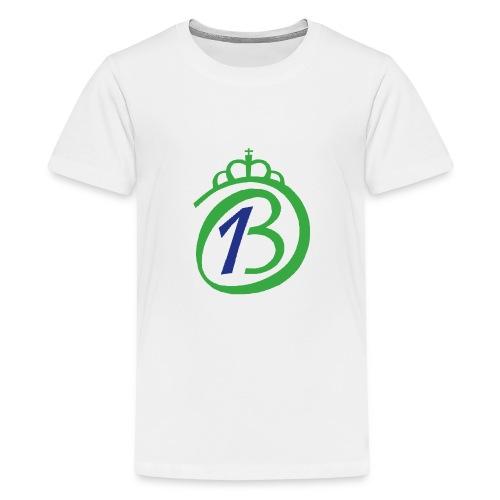 Logo Por nuestro Betis - Camiseta premium adolescente
