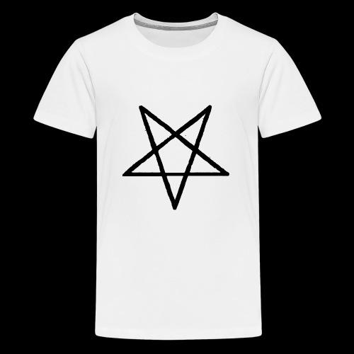 Pentagram2 png - Teenager Premium T-Shirt