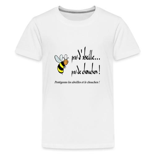 Pas d'abeille, pas de chouchen - T-shirt Premium Ado