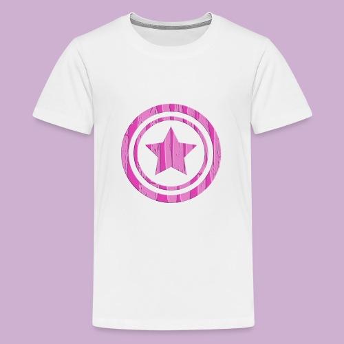STERN IM KREIS - Teenager Premium T-Shirt