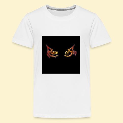 Logo flipflops - Teenager Premium T-shirt