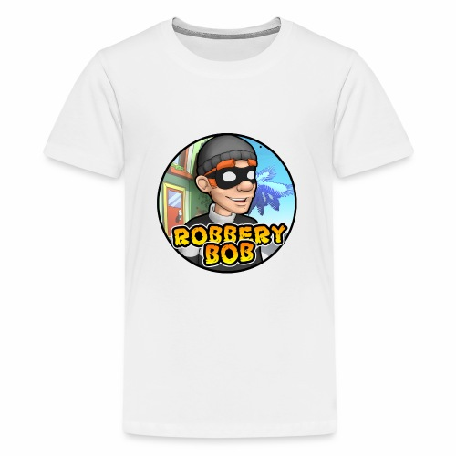 Robbery Bob Button - Teenage Premium T-Shirt