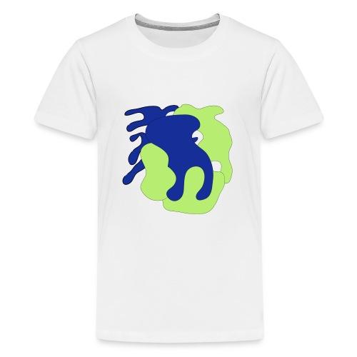 Macchie_di_colore-ai - Maglietta Premium per ragazzi