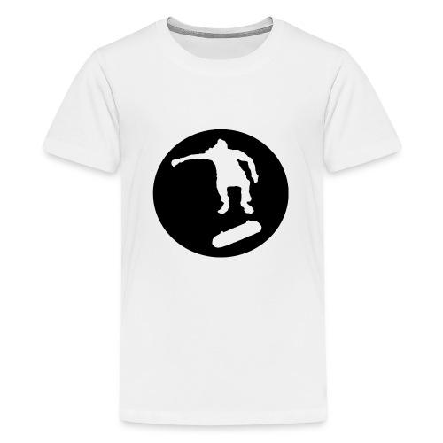 FVHJ Hoodie med logo på ryggen - Teenager premium T-shirt