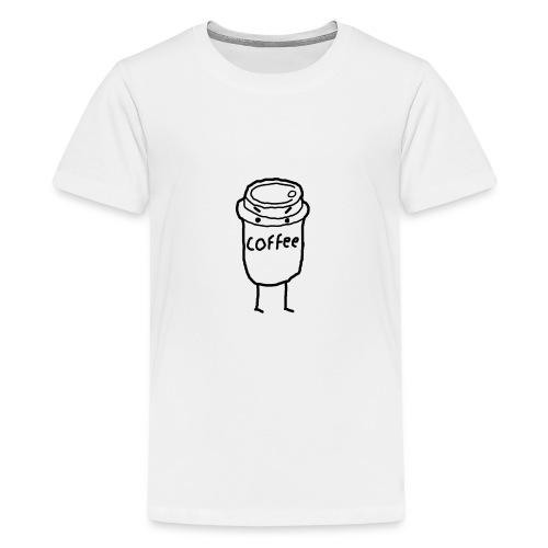 Cold Coffee - Teenage Premium T-Shirt