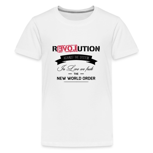 Revolution - Teenager Premium T-Shirt