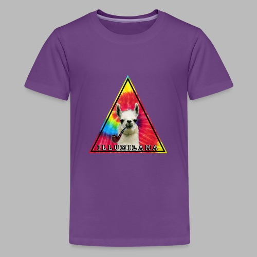 Illumilama logo T-shirt - Teenage Premium T-Shirt