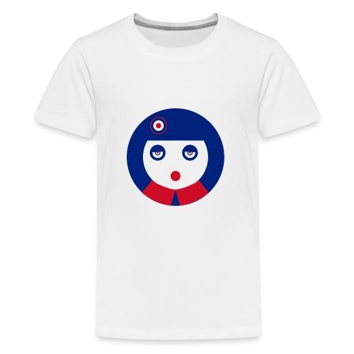 mod girl - Camiseta premium adolescente
