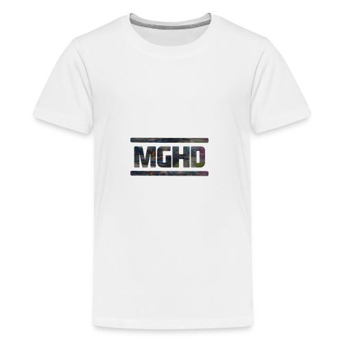 MGHD WHITE T-SHIRT - Teenage Premium T-Shirt
