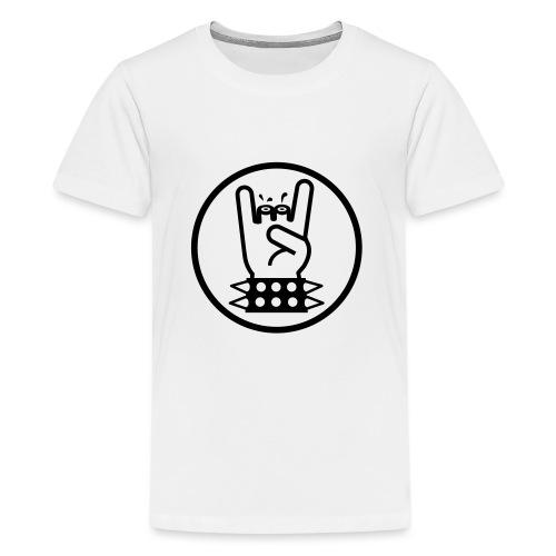 Metalhand prutswerk - Teenager Premium T-shirt
