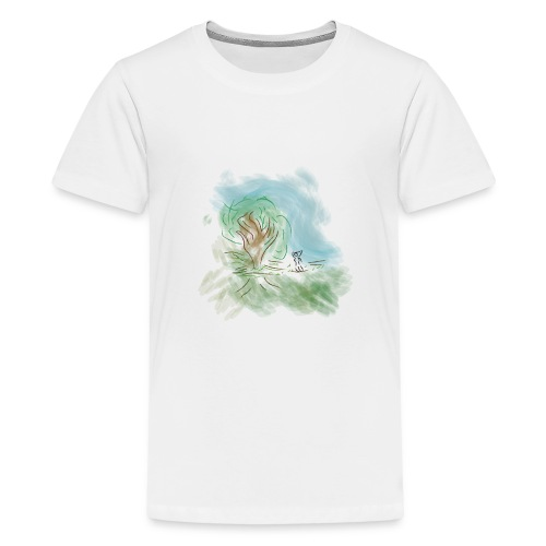 zen - Camiseta premium adolescente