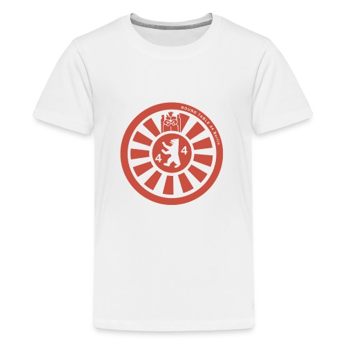 Logo RT44 Berlin 2016 pure red 4000px png - Teenager Premium T-Shirt
