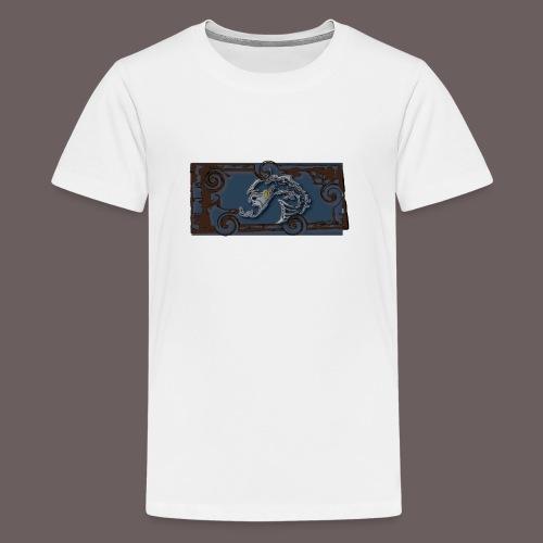 Vrakfisk - Premium T-skjorte for tenåringer