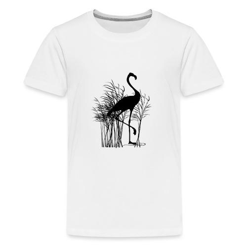 Flamant rose - T-shirt Premium Ado