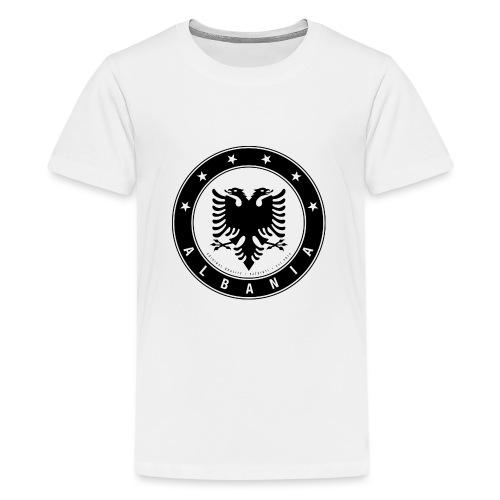 Patrioti Albania Black - Teenager Premium T-Shirt