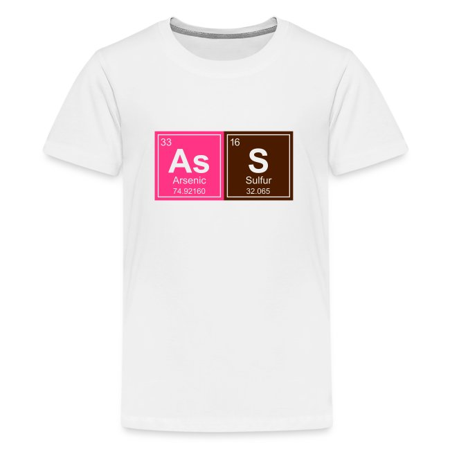 Geeky Ass Periodic Elements