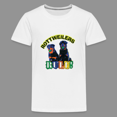 Rottweiler - Teenage Premium T-Shirt