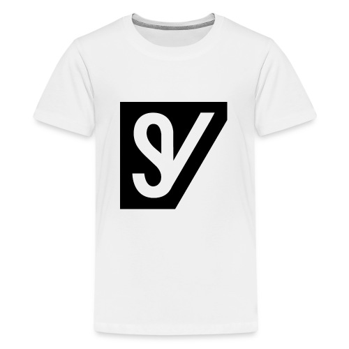 watermerk zwart png - Teenager Premium T-shirt