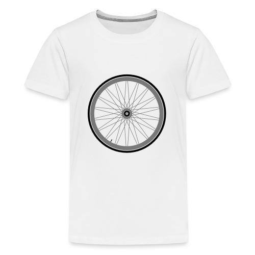roue de vélo - T-shirt Premium Ado