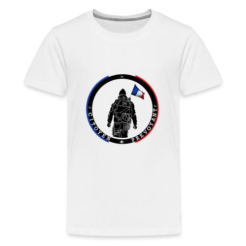 logo citoyen prevoyant2 - T-shirt Premium Ado