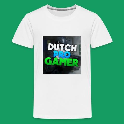 dpg logo groot png - Teenager Premium T-shirt