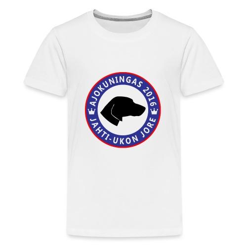 Ajokuningas t-paita - Teinien premium t-paita