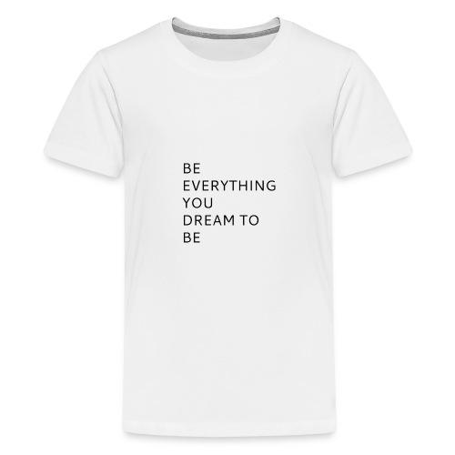 Dreamer - Teinien premium t-paita