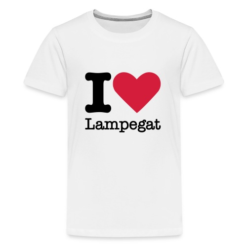 I Love Lampegat - Teenager Premium T-shirt