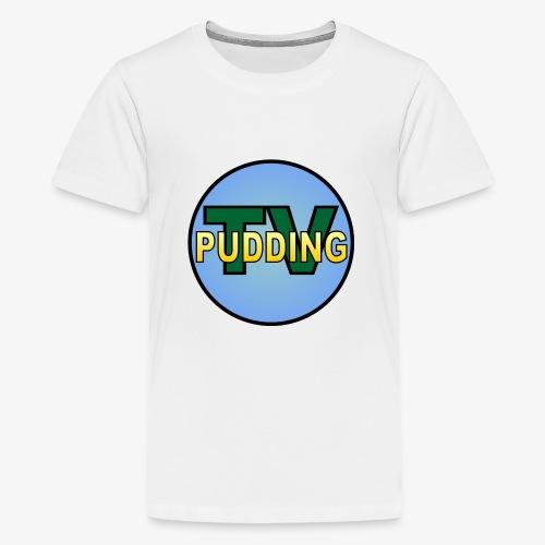 Pudding-TV - Premium T-skjorte for tenåringer