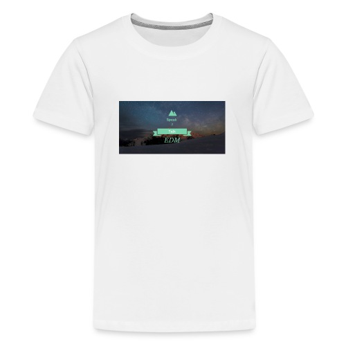 Speak Brand Logo - Teenage Premium T-Shirt