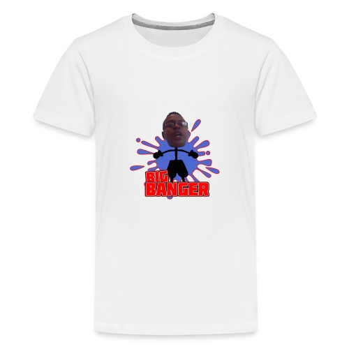 Big Banger (red) - Premium-T-shirt tonåring