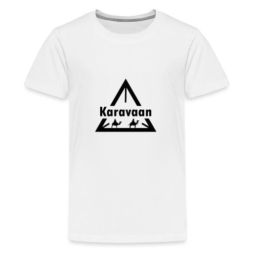 Karavaan Black (High Res) - Teenager Premium T-shirt