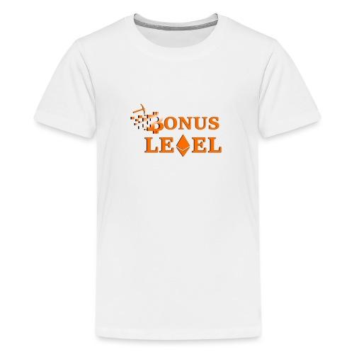 Bonus Level Logo - Teenager Premium T-Shirt