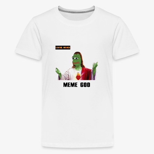 living memes - Teenage Premium T-Shirt