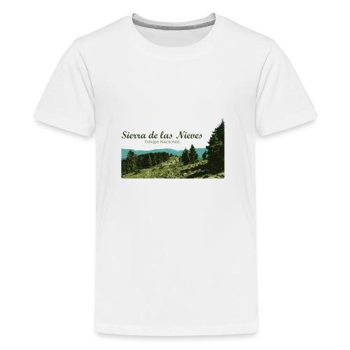 Sierra de las Nieves Parque Nacional - Camiseta premium adolescente