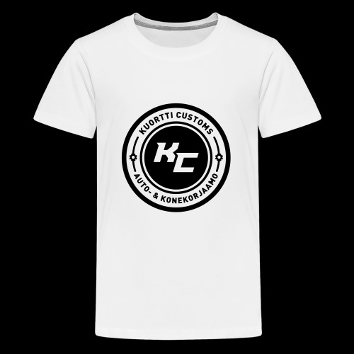 kc_tunnus_2vari - Teinien premium t-paita