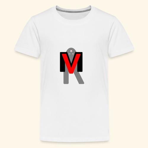 MVR LOGO - Teenage Premium T-Shirt