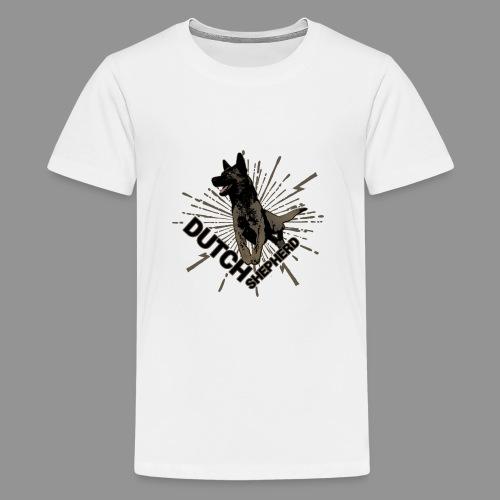 Dutch Shepherd Dog - Teenage Premium T-Shirt
