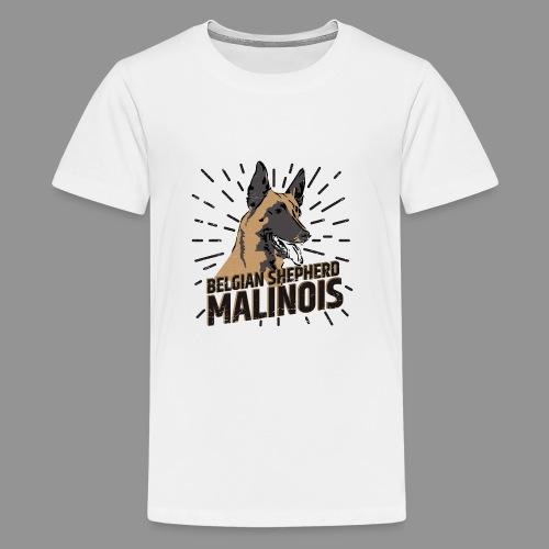 Belgian shepherd - Teenage Premium T-Shirt