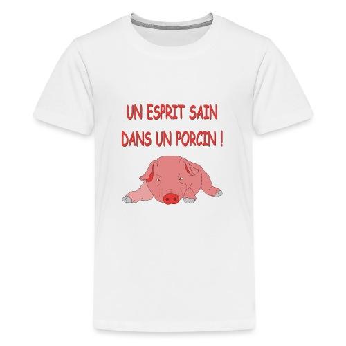 Porcitive Attitude - T-shirt Premium Ado