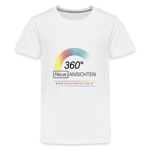 Logo NeueAnsichten - Teenager Premium T-Shirt