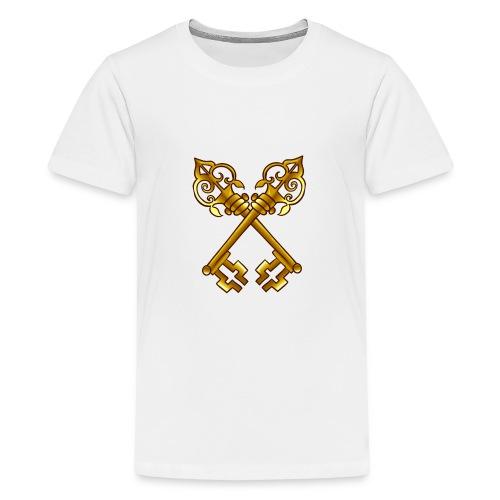 Sweat Simple avec logo au centre - T-shirt Premium Ado