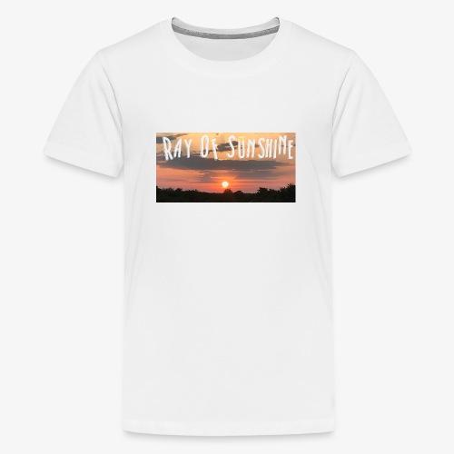 Ray of sunshine - Teenage Premium T-Shirt