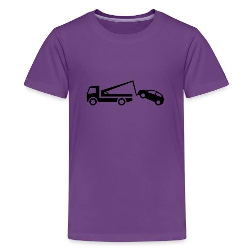 Abschleppwagen - Teenager Premium T-Shirt
